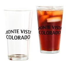 Monte Vista Colorado Drinking Glass