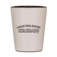 Monte Vista Estates Colorado Shot Glass