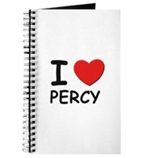 I love Percy Journal