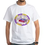 Scrapbooking and Cooking White T-Shirt