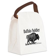 BUFFALO SOLDIER Canvas Lunch Bag