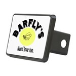 BARFLY'S NEED LOVE TOO Rectangular Hitch Cover