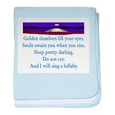 GOLDEN SLUMBERS baby blanket