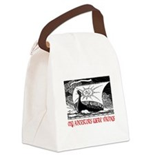 MY ANCESTORS WERE VIKINGS Canvas Lunch Bag