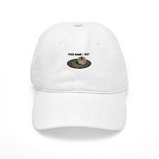 Custom Otter Baseball Baseball Cap