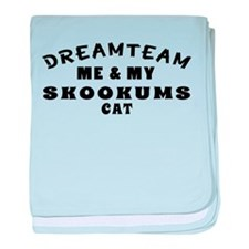 Skookums Cat Designs baby blanket