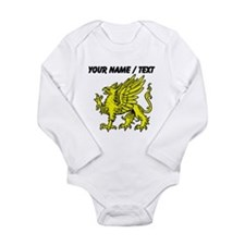Custom Gold Griffin Statue Body Suit