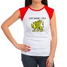 Custom Gold Griffin Statue T-Shirt