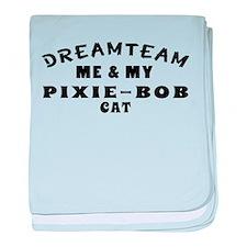 Pixie-Bob Cat Designs baby blanket