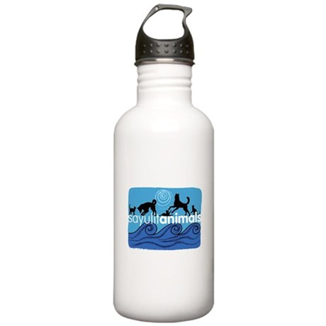 SayulitAnimals Water Bottle