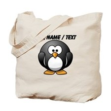 Custom Cartoon Penguin Tote Bag