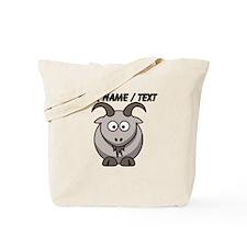 Custom Cartoon Goat Tote Bag