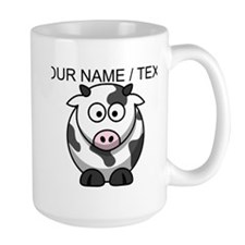 Custom Cartoon Cow Mug