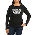 Brooklyn New York Women's Long Sleeve Dark T-Shirt