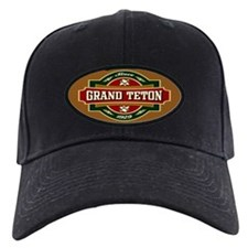 Grand Teton Old Label Baseball Hat
