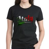 Italy Metallic Color Tee