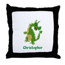 Dragon Just Add Name Throw Pillow