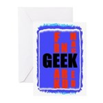 GEEK/NERD/HACKERS Greeting Cards (Pk of 10)