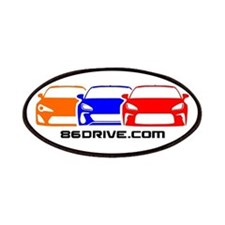 86DRIVE.com Logo Patches