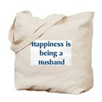 Husband : Happiness Tote Bag