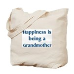 Grandmother : Happiness Tote Bag