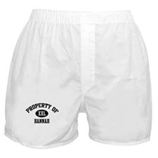Property of Hannah Boxer Shorts