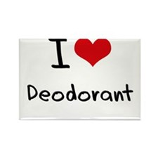 I Love Deodorant Rectangle Magnet