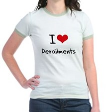 I Love Derailments T-Shirt