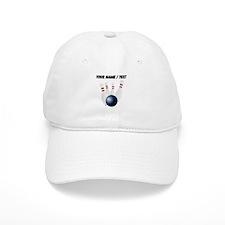 Custom Bowling Pins Baseball Baseball Cap