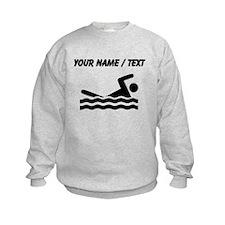 Custom Swimming Sweatshirt