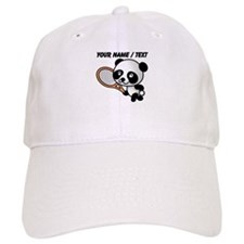 Custom Panda Tennis Player Baseball Cap