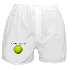 Custom Tennis Ball Boxer Shorts