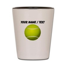 Custom Tennis Ball Shot Glass