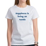 Auntie : Happiness Women's T-Shirt