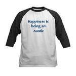 Auntie : Happiness Kids Baseball Jersey