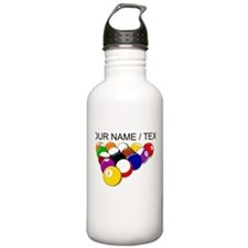 Custom Eight Ball Rack Water Bottle