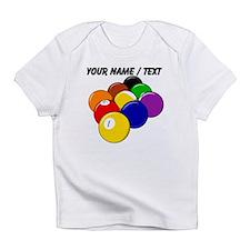 Custom Nine Ball Rack Infant T-Shirt