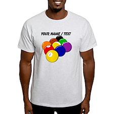 Custom Nine Ball Rack T-Shirt