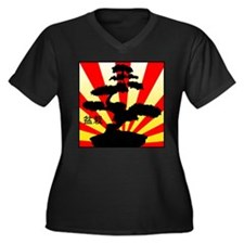 Bonsai Tree Plus Size T-Shirt