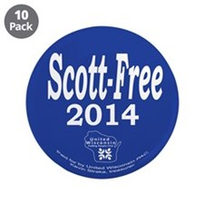 "Scott-Free 2014 3.5"" Button (10 pack)"