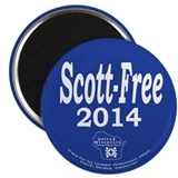 "Scott-Free 2014 2.25"" Magnet (10 pack)"