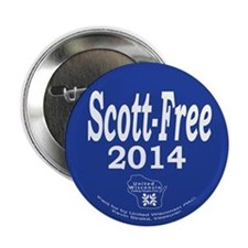 "Scott-Free 2014 2.25"" Button"