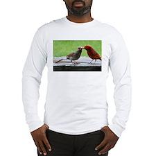 Kissing Cardinals Long Sleeve T-Shirt