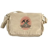 Women's Work Logo Messenger Bag
