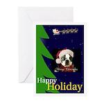 HAPPY HOLIDAY DOG CHRISTMAS Cards (Pk of 10)