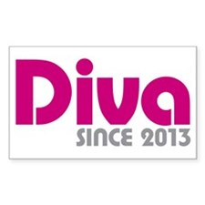 Diva Since 2013 Decal