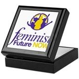Feminist Future NOW Logo Keepsake Box