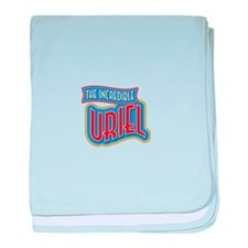 The Incredible Uriel baby blanket