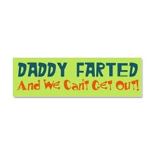 Cute Daddy Car Magnet 10 x 3