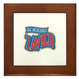 The Incredible Zavier Framed Tile